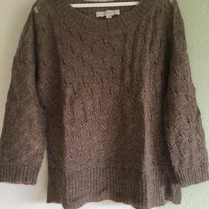 Loft light brown sweater